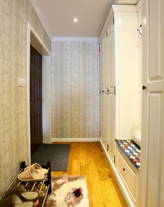 140平2居室现代美式风效果图