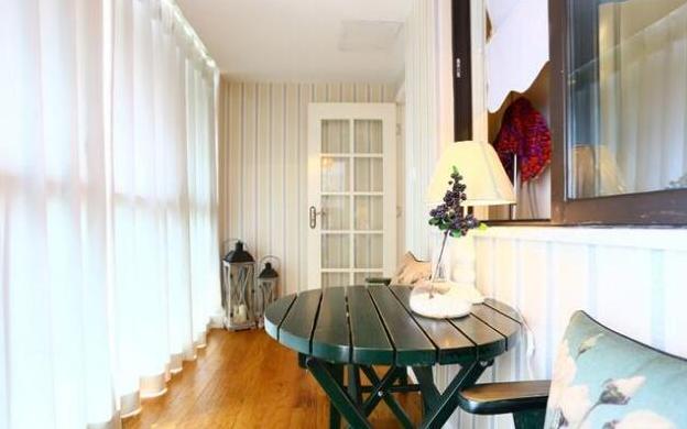 140平2居室现代美式风效果图4