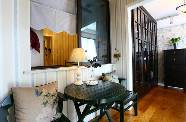 140平2居室现代美式风效果图5