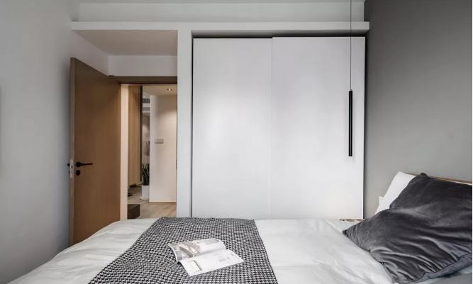 75㎡二手房卧室改造