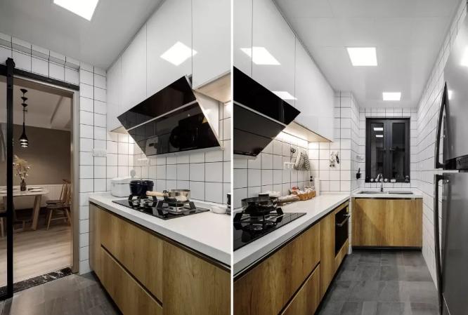 75㎡二手房厨房改造