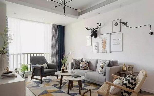 客厅装修简约风格