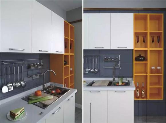 厨房装修误区橱柜设计过多