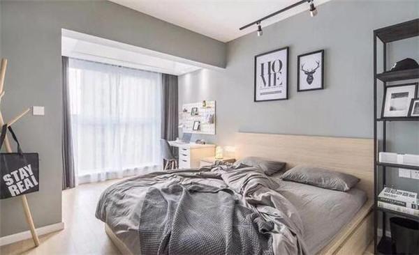 北欧风卧室装修效果图图片