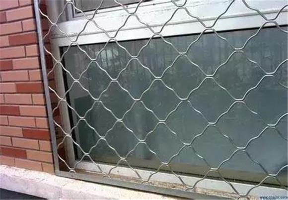 网格防盗窗
