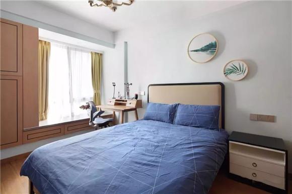 145平米新中式三居室儿童房装修