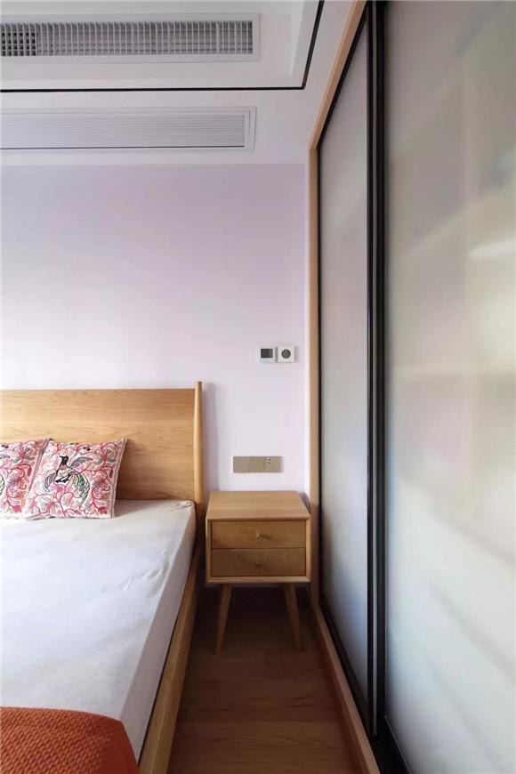 145平米新中式三居室次卧装修