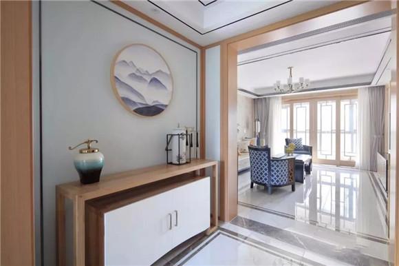 145平米新中式三居室装修