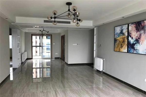 150平3房简欧硬装之地砖