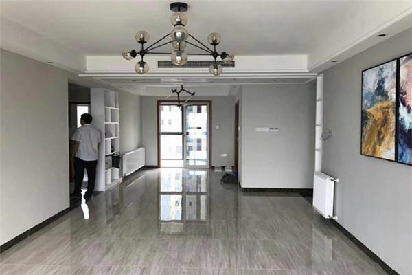 150平3房简欧硬装之双阳台