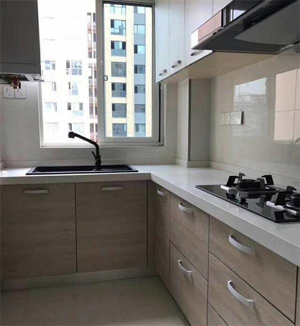150平3房简欧硬装之厨房
