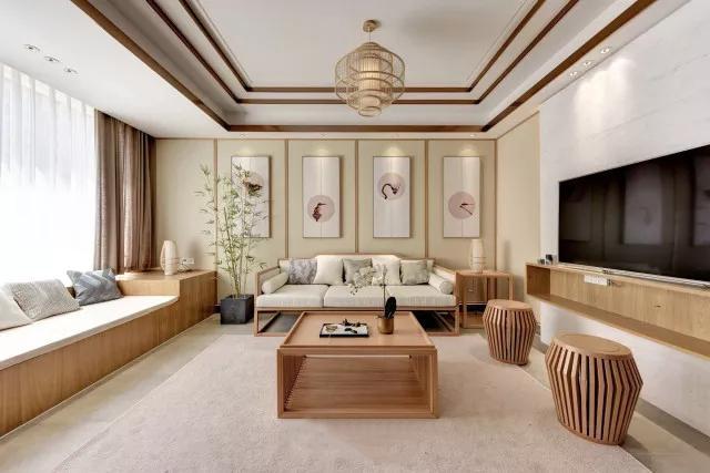 160平米日式风格客厅装饰