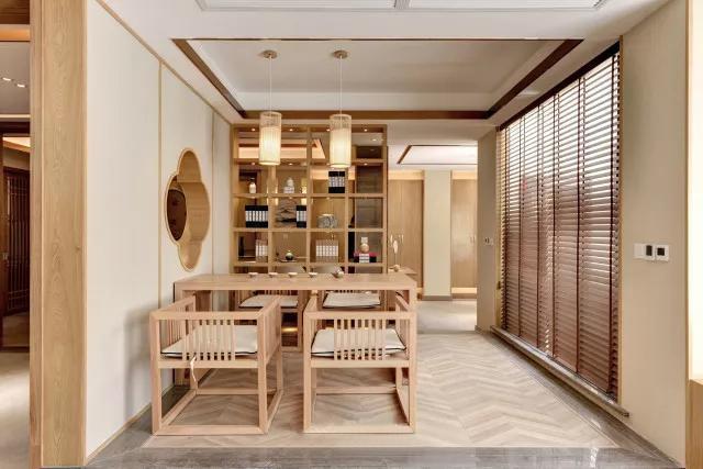 160平米日式风格餐厅装修
