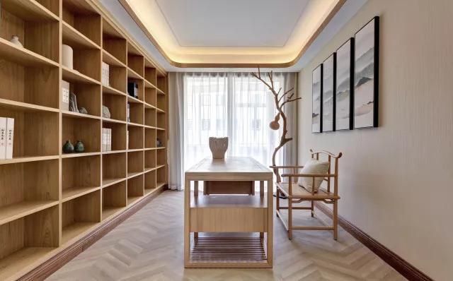 160平米日式风格书房装修