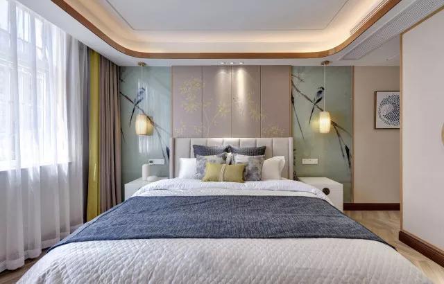 160平米日式风格卧室装修