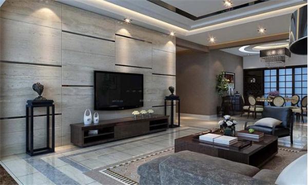 电视背景墙用瓷砖还是硬包好不好