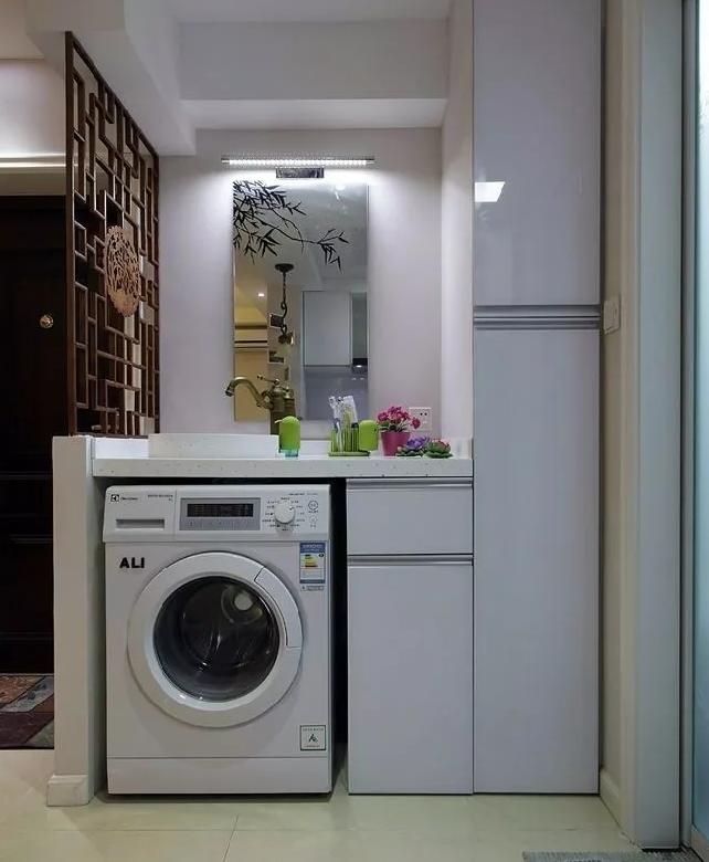洗衣机最佳摆位位置1