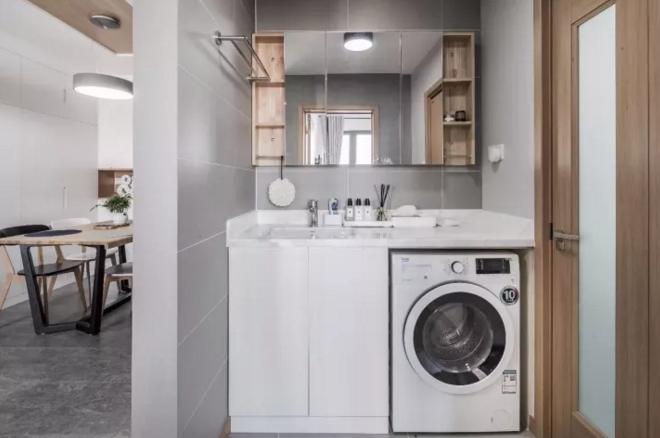 洗衣机最佳摆位位置3