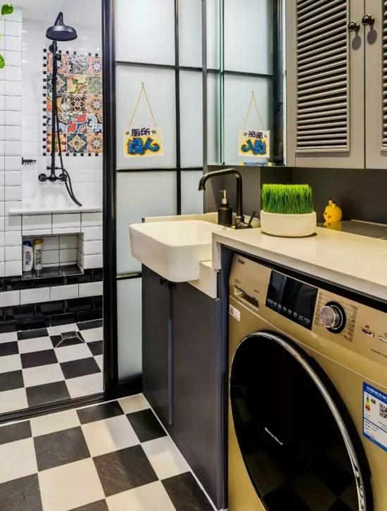 洗衣机最佳摆位位置4