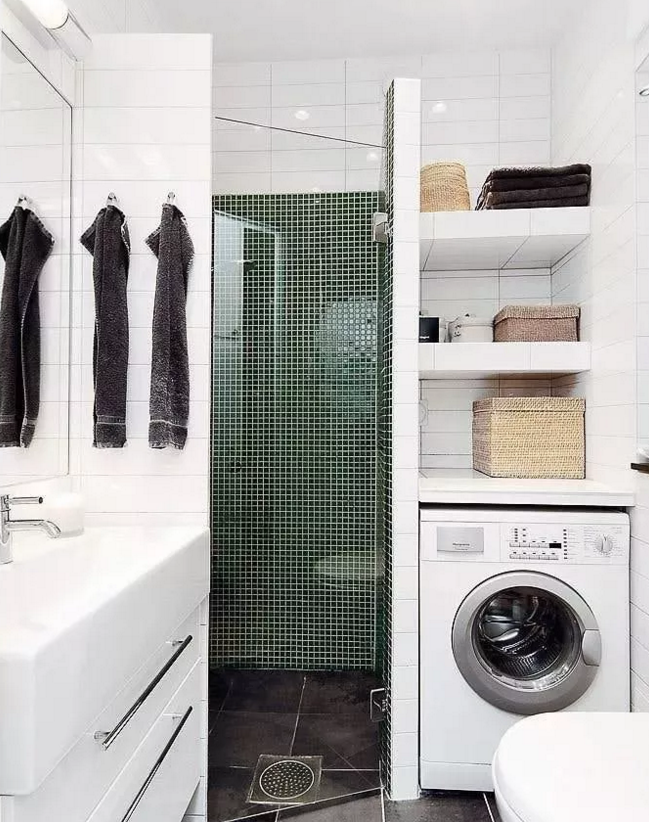 洗衣机最佳摆位位置10