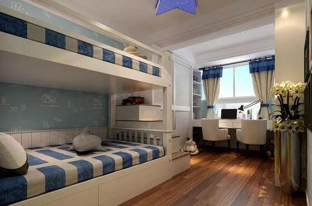 地中海式儿童房装修