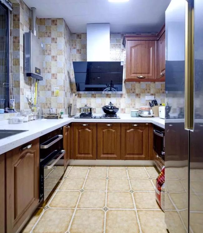 厨房整体的做饭氛围不错
