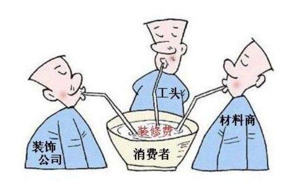 """""""找品牌装修公司装修""""or""""找游击队装修"""""""