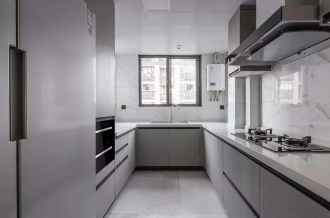 厨房U型的空间布局