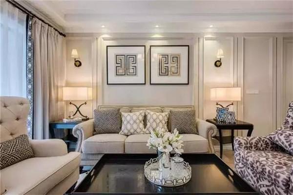 120平米三室两厅美式风格装修
