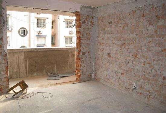 砖混老房改造要慎重