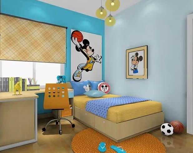 儿童房光线和周边环境很重要