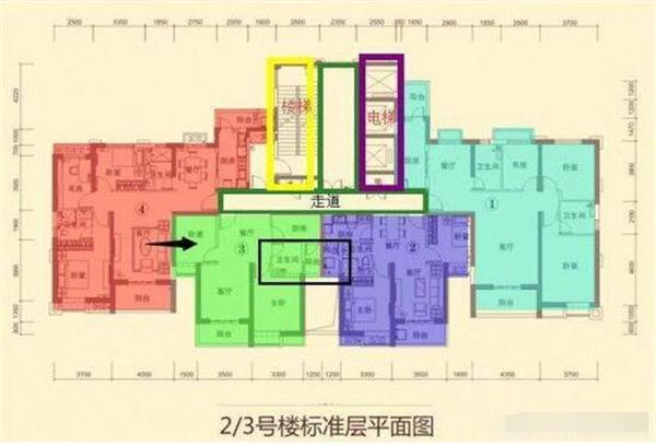 看楼层户型平面图