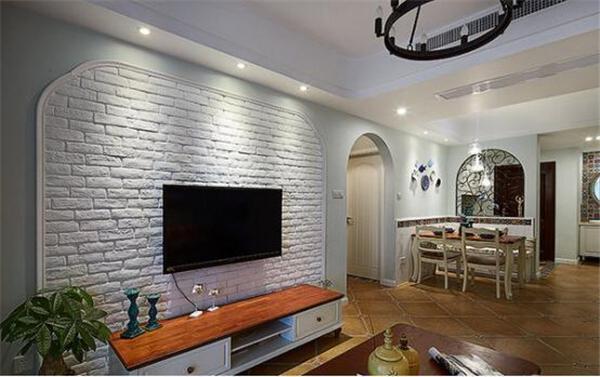 壁纸电视背景墙