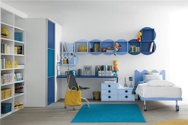 儿童房学习区域