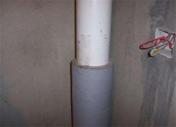 隔音棉包裹下水管道