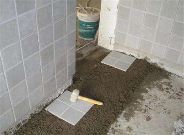 瓷砖胶的比例调匀