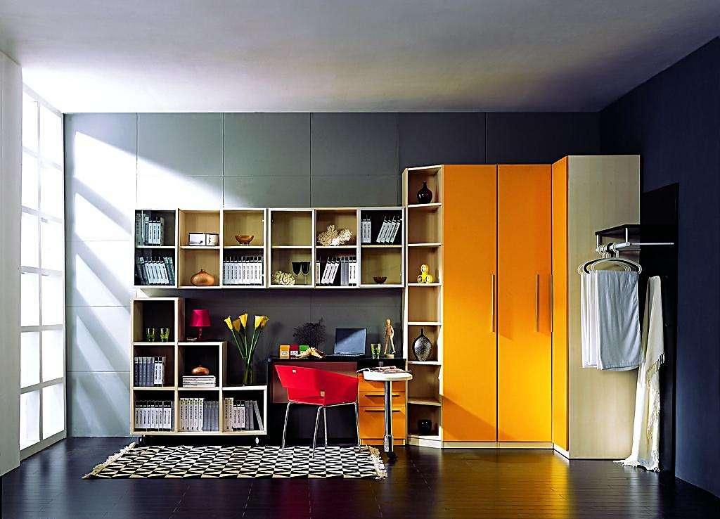 墙面改造书房