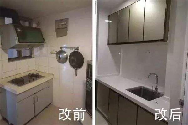 焦作厨房简单翻新费用