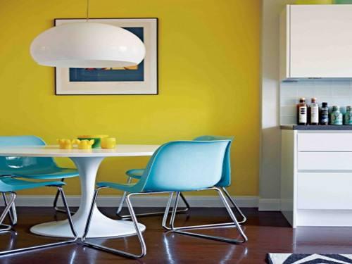 家装的色彩运用更加的大胆和灵活