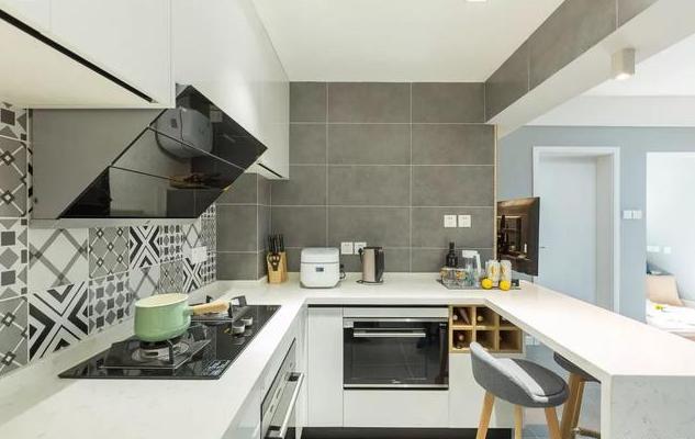 78平米北欧风厨房装修