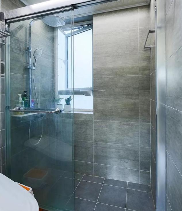 78平米北欧风淋浴房装修