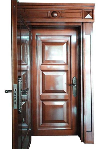 安装两道入户门
