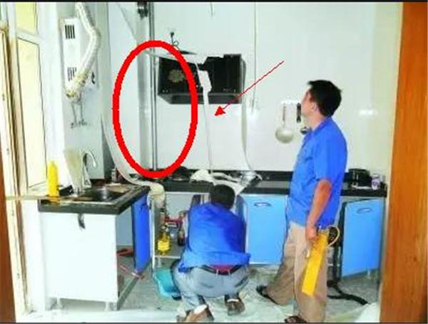厨房煤气管道安装注意事项