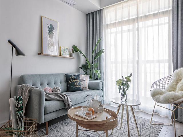 北欧风格小公寓装修 装修的很有美感
