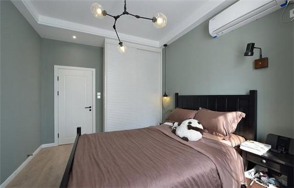 90平米两室一厅简装效果图