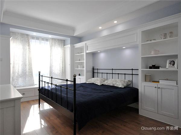 白色卧室装修效果图