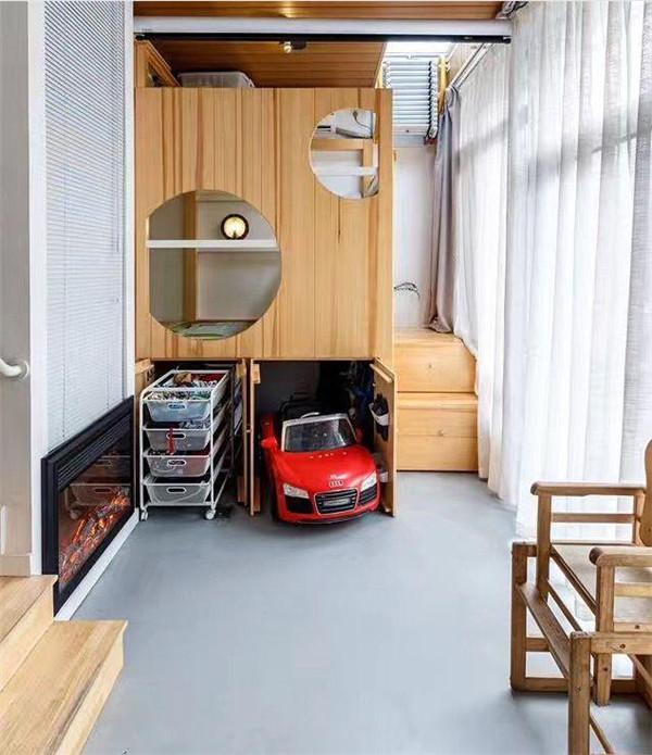 50平米旧房改造装修