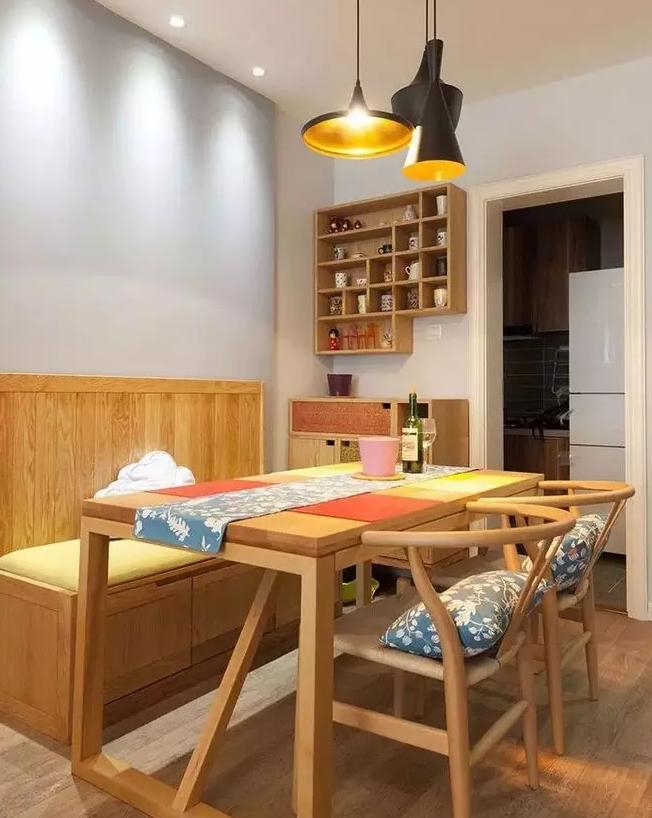 实用美观小户型餐厅设计图3
