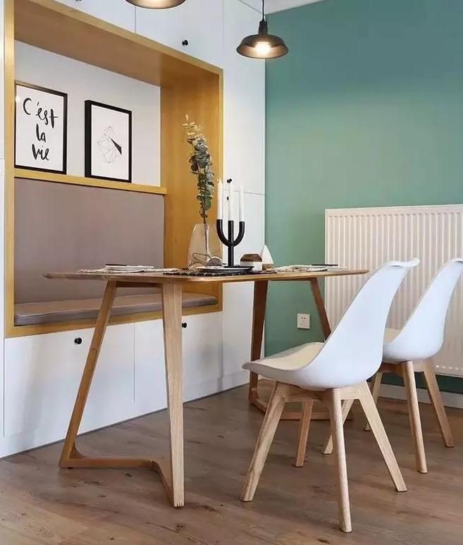 实用美观小户型餐厅设计图10