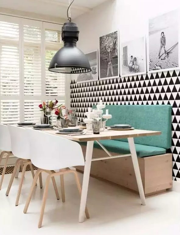 实用美观小户型餐厅设计图15